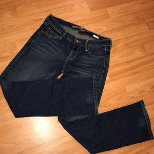 Arizona Bootcut Jeans Sz. 5 short